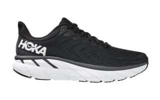 Hoka CLIFTON 7 BLACK WHITE