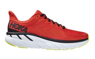 Hoka CLIFTON 7 RED BLACK