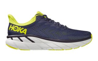 Hoka CLIFTON 7 GREY YELLOW