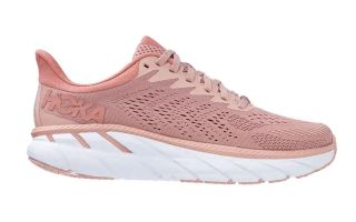 Hoka CLIFTON 7 PINK WHITE WOMAN