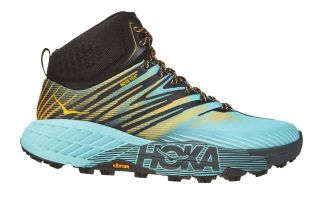 Hoka SPEEDGOAT MID 2 GTX GOLD BLUE WOMAN