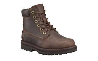 Timberland COURMA TRADITIONAL 6IN MARR�N OSCURO JUNIOR