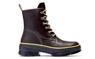 Timberland MALYNN MID LACE EK + WP MARRONE ROSSASTRO DONNA