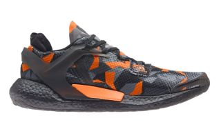 <center><b>adidas</b><br > <em>ALPHATORSION BOOST NOIR ORANGE FW9550</em>