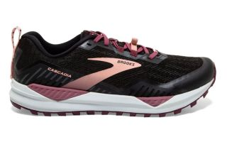 Brooks CASCADIA 15 BLACK PINK WOMEN