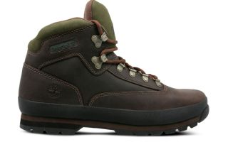 Timberland EURO HIKER LEATHER MARRONE SCURO