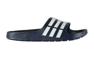 adidas SLIPPERS DURAMO SLIDE NAVY BLUE