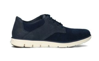 TIMBERLAND BRADSTREET MIXED MEDIA OXFORD BLU NAVY
