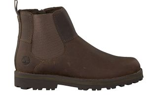 TIMBERLAND COURMA CHELSEA DARK BROWN JUNIOR