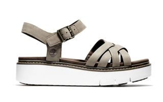 TIMBERLAND SANDALS SAFARI DAWN MULTI STRAP GRAY WOMEN