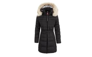 Timberland CHAQUETA QUILTED HOODED NEGRO MUJER