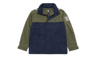 Timberland JACKET COLOURBLOCK BLUE GREEN