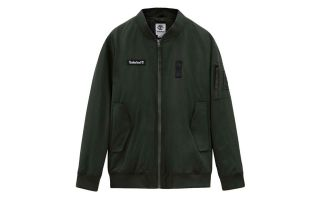 Timberland GIACCA BOMBER VERDE SCURO