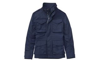 Timberland JACKET GULF PEAK MEMORY FABRIC CITY BLUE
