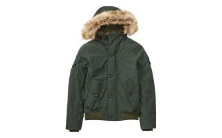 Timberland JACKET SNORKEL DOWNFREE GREEN