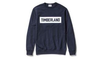 Timberland SWEATSHIRT EMBOSHED LOGO SAPPHIRE FONC�