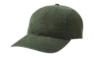 Timberland CAP COTTON CANVAS OLIVE GREEN