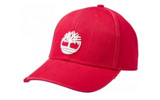 Timberland DISTRESSED BB CAP ROJO