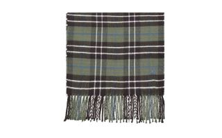 Timberland PLAID SCARF GREEN GREY