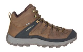 Merrell ONTONAGON PEAK MID WP BROWN
