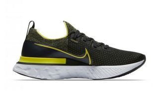 Nike REACT INFINITY RUN NERO GIALLO