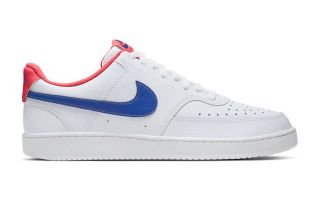Nike COURT VISION LOW WHITE BLUE