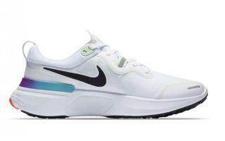 Nike REACT MILER WHITE BLACK