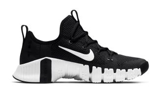 Nike FREE METCON 3 BLACK WHITE WOMEN