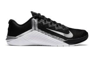 Nike METCON 6 NEGRO PLATA MUJER NIAT3160 010