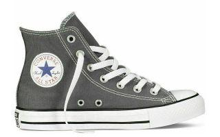 Converse CHUCK TAYLOR ALL STAR HI CHARCOAL GRAU 1J793C 010