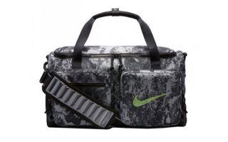 Nike TASCHE UTILITY GRAU SCHWARZ