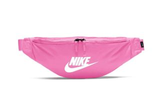 NIKE FANNY PACK HERITAGE PINK