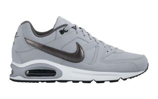 Nike AIR MAX COMMAND LEATHER GRIS NEGRO 749760 012