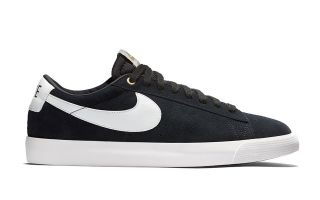 Nike BLAZER LOW GT BLACK BLUE