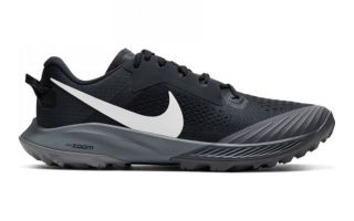 Nike AIR ZOOM TERRA KIGER 6 NERO BLU DONNA CJ0220 001