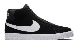 Nike SB BLAZER ZOOM MID NEGRO BLANCO 864349 002