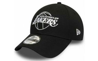 NEW ERA GORRA NBA LA LAKERS ESSENTIAL OUTLINE 940 NEGRO