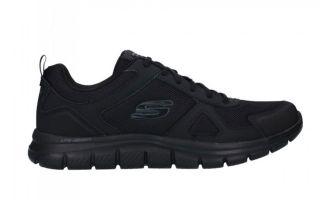 Skechers TRACK-SCLORIC GRIS 52631BBK