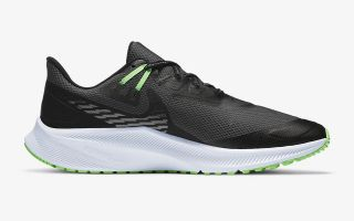 <center><b>Nike</b><br > <em>QUEST 3 SHIELD NEGRO VERDE CQ8894 010</em>