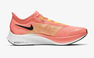 Nike ZOOM FLY 3 CORAL NEGRO AT8240 801
