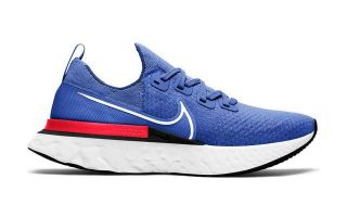 Nike REACT INFINITY RUN FLYKNIT AZUL BLANCO CD4371 400