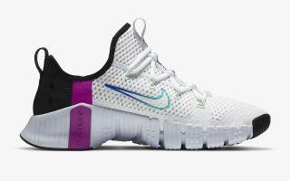 Nike FREE METCON 3 WHITE BLUE
