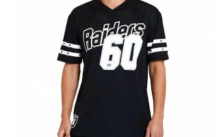 New Era T-SHIRT OAKLAND RAIDERS MESH BLACK