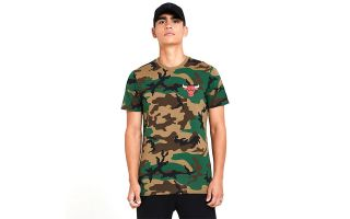 New Era T-SHIRT CHICAGO BULLS CAMO