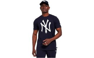 New Era T-SHIRT NY YANKEES PRINT INFILL NAVY
