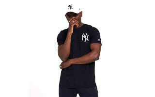 New Era T-SHIRT NY YANKEES ALL OVER PRINT NAVY