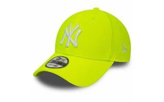 CAP NEW YORK YANKEES 9FORTY NEON YELLOW