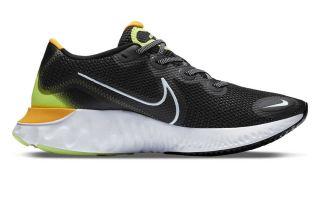 Nike RENEW RUN SCHWARZ GELB CK6357 007