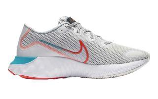 Nike RENEW RUN BLANC BLEU CK6357 101
