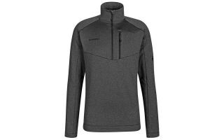 Mammut SWEATER NAIR ML HALF ZIP BLACK